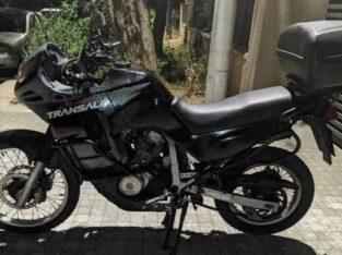 Κλοπή μηχανής transalp 600 μαύρο Κουκάκι Αθήνα