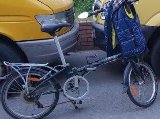 Κλοπή ποδήλατο DAHON πράσινο Νέα Φιλαδέλφεια