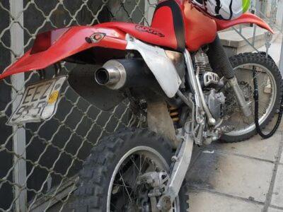 Honda xr400 από άνω πόλη Θεσσαλονίκης. Μοτοσυκλέτες-Μοτοποδήλατα- Θεσσαλονίκη