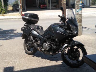 ΕΚΛΆΠΗ SUZUKI Vstrom άλσος Νέας Σμύρνης. Moto-Μηχανές- Νέα Σμύρνη