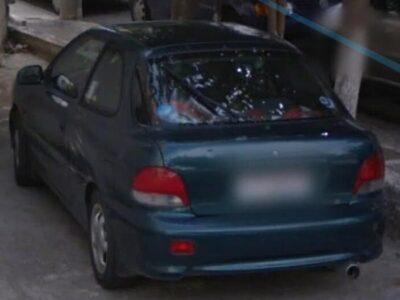 Εκλάπη Hyundai Accent πράσινο Περιστέρι Auto-Αυτοκίνητα- Περιστέρι